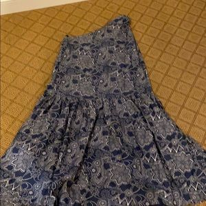 NWT ROLLER RABBIT LONG DRESS L